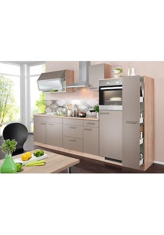 wiho Küchen Küchenzeile »Montana«, mit E-Geräten, Breite 290 cm kaufen