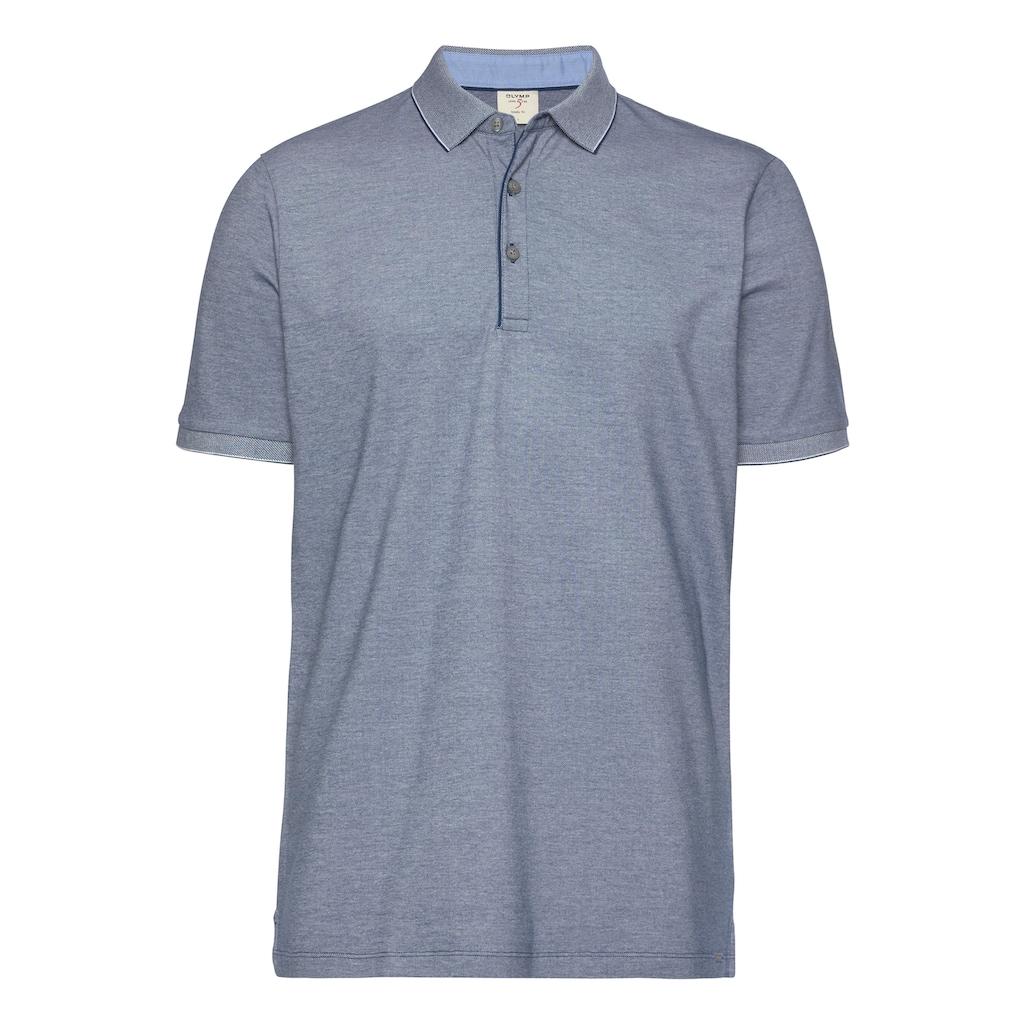 OLYMP Poloshirt »Level Five body fit«, weich im Griff