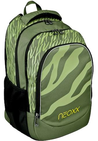 neoxx Schulrucksack »Fly, Ready for Green«, Reflektionsnaht, aus recycelten PET-Flaschen kaufen