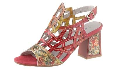 LAURA VITA Sandalette »Hackio«, mit Blütenprint kaufen