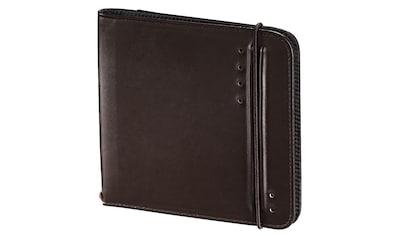 Hama CD - /DVD - /Blu - ray - Tasche Ready for Business 24, Braun kaufen