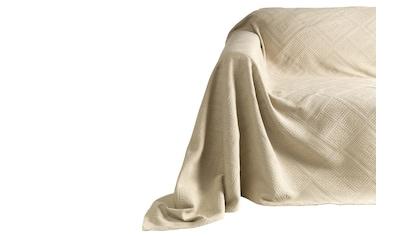 Sesselüberwurf mit Hoch - /Tief - Struktur kaufen