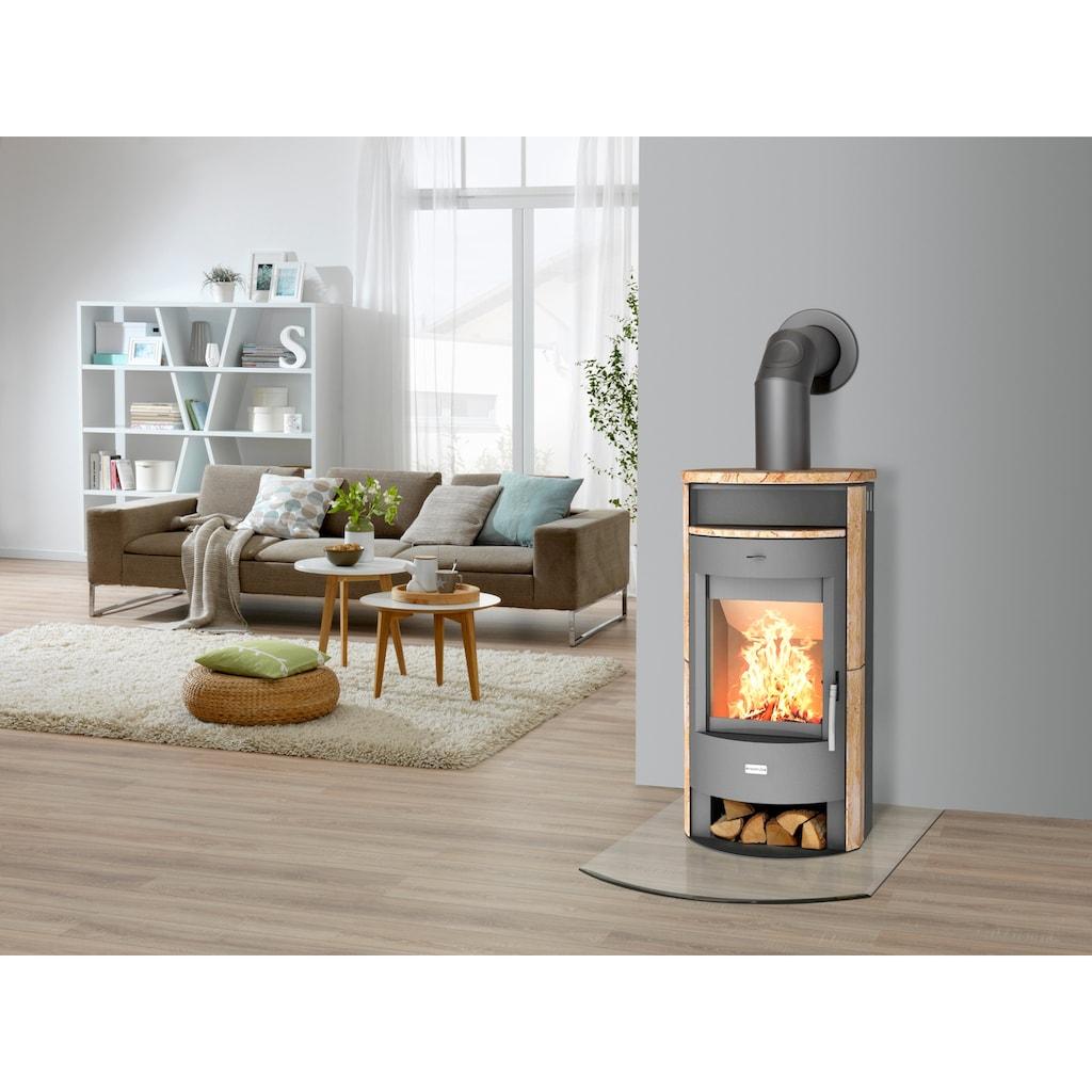 Heathus Kaminofen »MAIA«, Sandstein, Tee- und Holzfach
