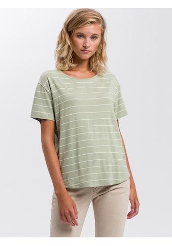 Cross Jeans® T-Shirt »55741«, Legeres Shirt mit Streifen kaufen