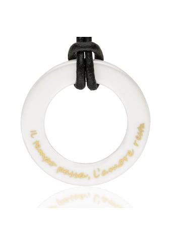 Gilardy Anhänger mit Kette »Keramik White« kaufen