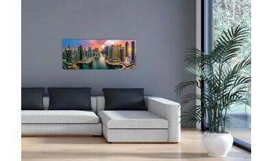 """Marmony Infrarotwandheizung »MOTIV-Heizkörper """"Dubai Marina"""", 800 Watt«, aus deutschem... kaufen"""
