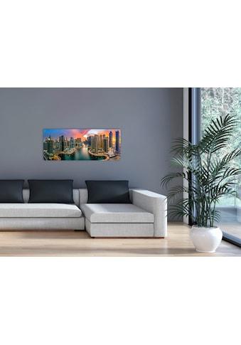 "Marmony Infrarotwandheizung »MOTIV-Heizkörper ""Dubai Marina"", 800 Watt«, trocknet... kaufen"