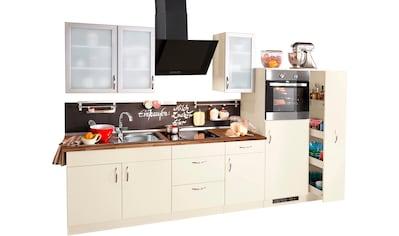 wiho Küchen Küchenzeile »Peru«, mit E-Geräten, Breite 270 cm kaufen