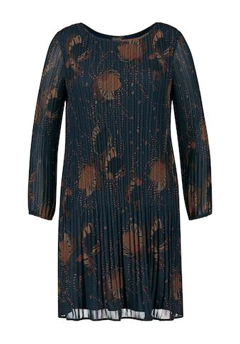 Samoon Plisseekleid »Ausgestelltes Kleid mit Plisséefalten« kaufen