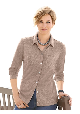 Casual Looks  Jersey - Bluse in Rippoptik kaufen
