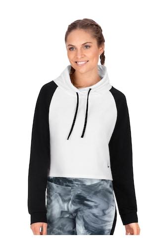 Trigema Kurzes Raglan - Sweatshirt mit Stehkragen kaufen