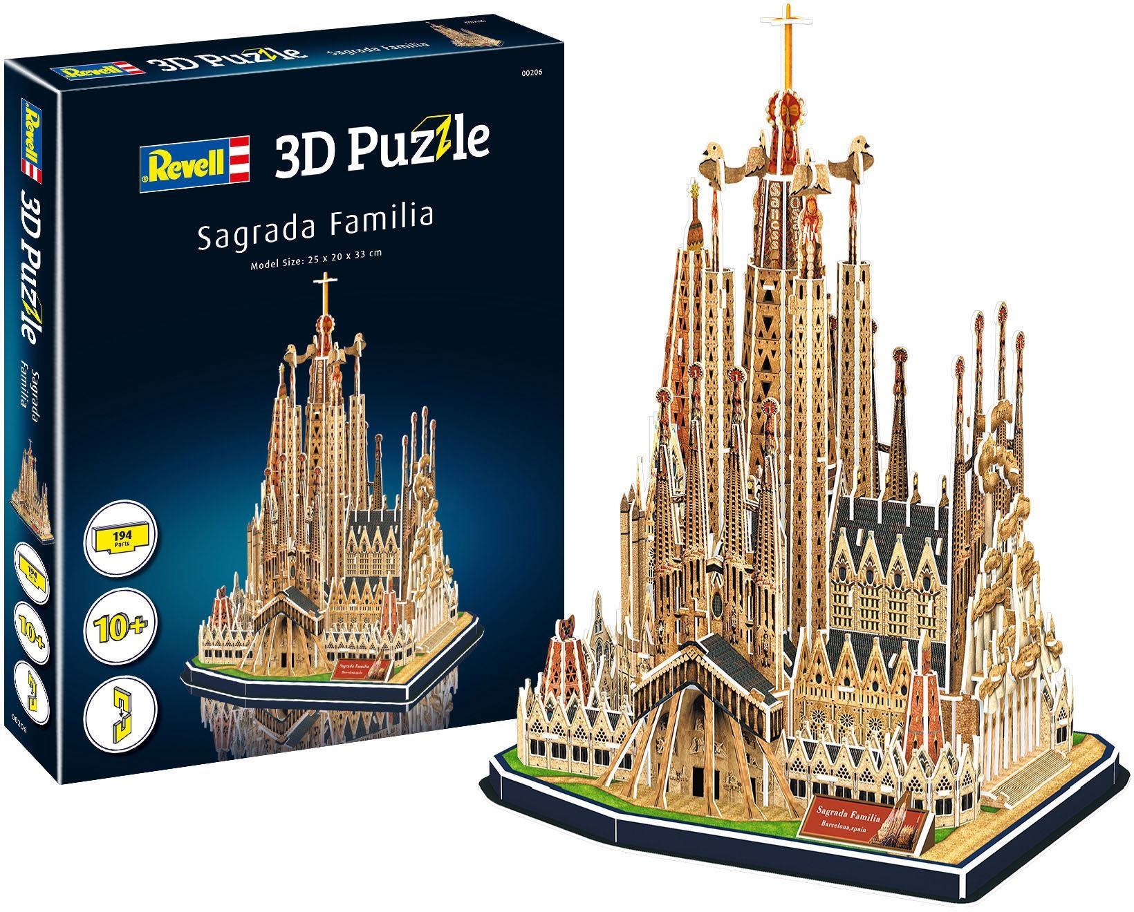 Revell 3D-Puzzle Sagrada Familia bunt Kinder Ab 9-11 Jahren Altersempfehlung Puzzles
