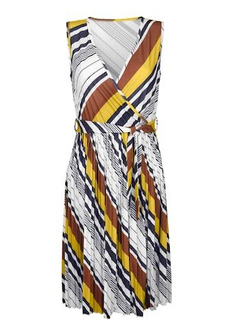 Amy Vermont Jerseykleid mit plissiertem Rockteil kaufen