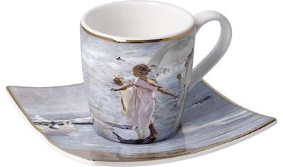 """Goebel Espressotasse »Joaquin Sorolla - """"Zeit für ein Bad""""«, 100 ml kaufen"""