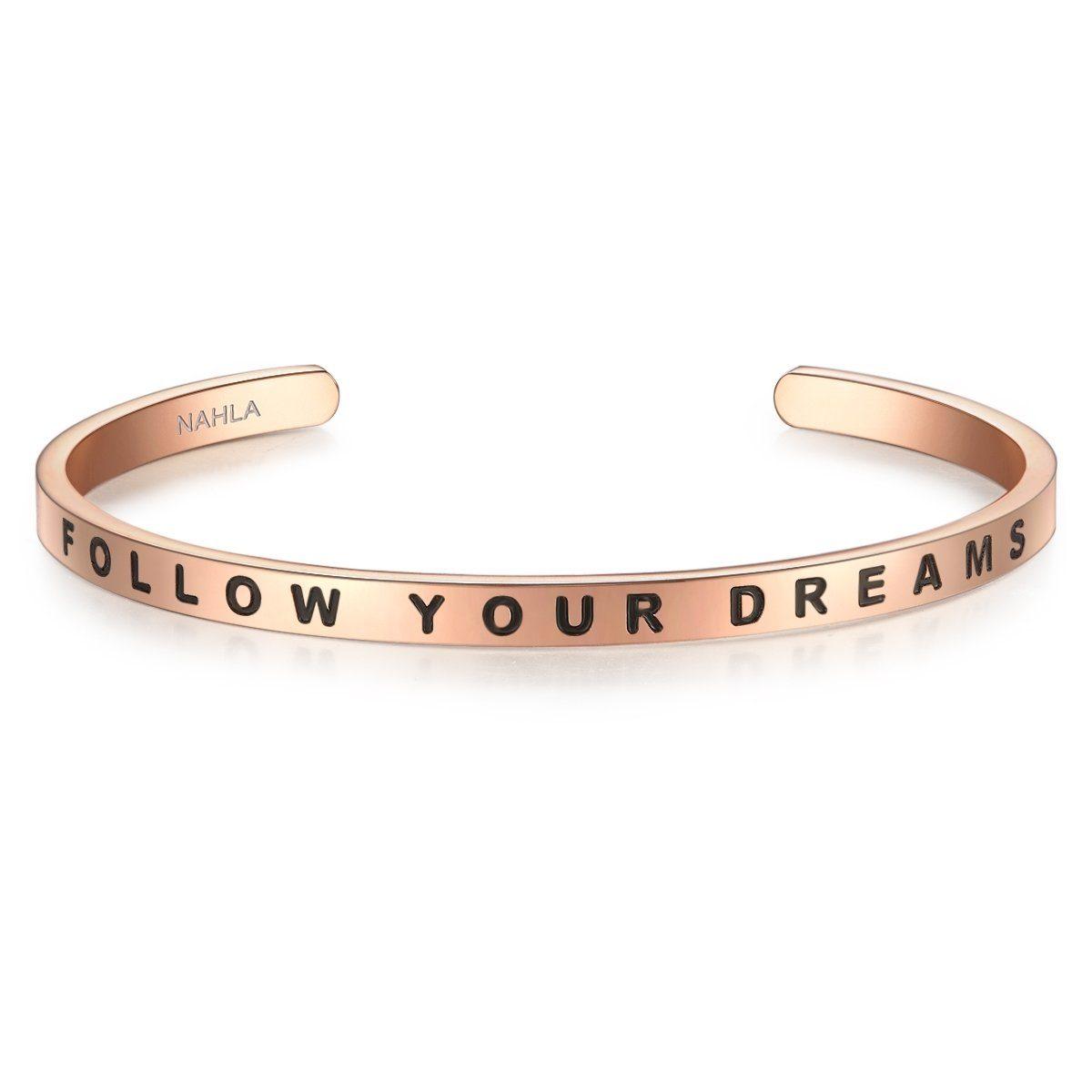 Nahla Jewels Armreif X293 | Schmuck > Armbänder > Armreifen | Goldfarben | Nahla Jewels