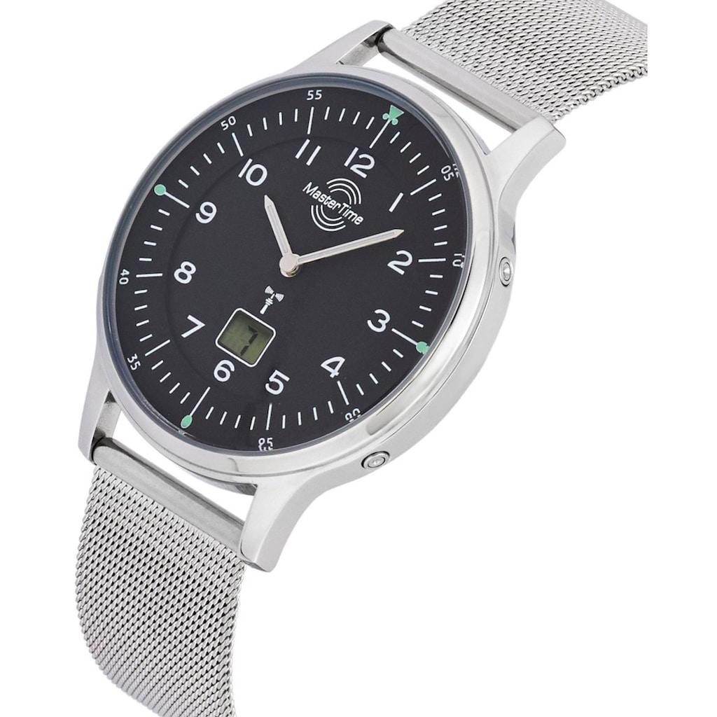 MASTER TIME Funkuhr »Advanced Slim, MTGS-10656-61M«