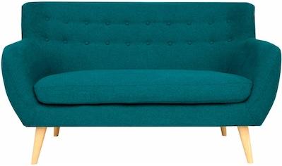 Home affaire 2-Sitzer »Noris«, mit Zierknopfheftung im Rücken, skandinavischer Stil,... kaufen