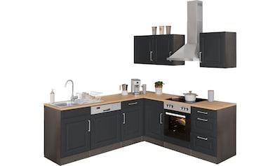 HELD MÖBEL Winkelküche »Stockholm«, ohne E-Geräte, Stellbreite 220/220 cm, mit... kaufen