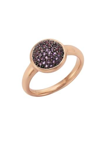 Jamelli Ring »925/ -  Sterling Silber rotverg. mit Amethyst« kaufen