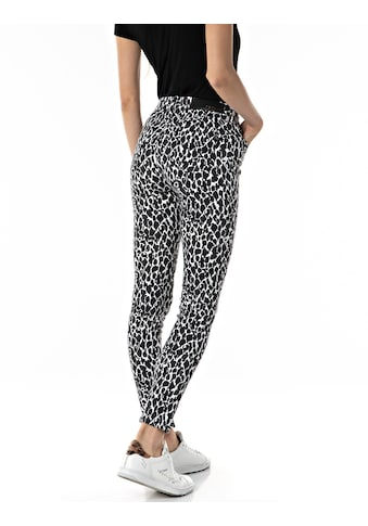 Replay Skinny-fit-Jeans, im Animal-Look kaufen