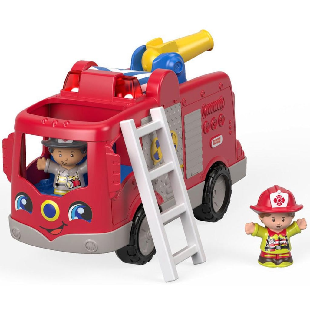 Fisher-Price® Spielzeug-Feuerwehr »Little People Feuerwehr«, mit Sound