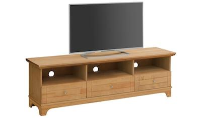 Home affaire Lowboard »Novara«, aus Kiefer massiv, Breite 167 cm kaufen