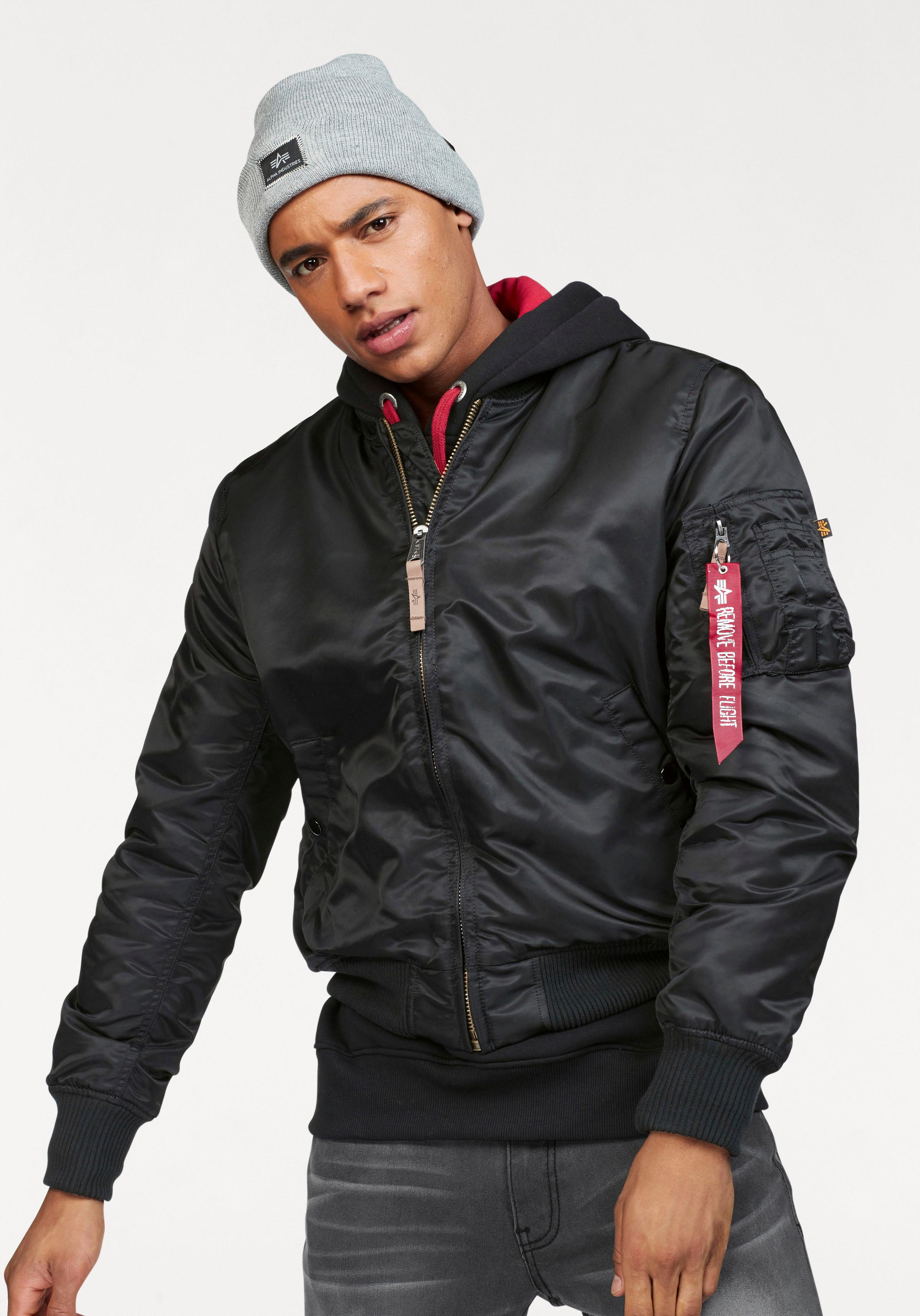 low cost e7bb7 b0bf3 Alpha Industries Bomberjacke MA-1 gefüttert
