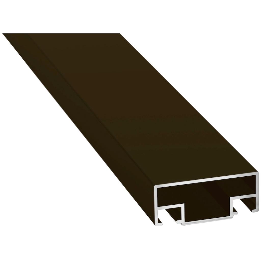 hecht international Insektenschutz-Vorhang »COMFORT«, braun/schwarz, BxH: 100x220 cm