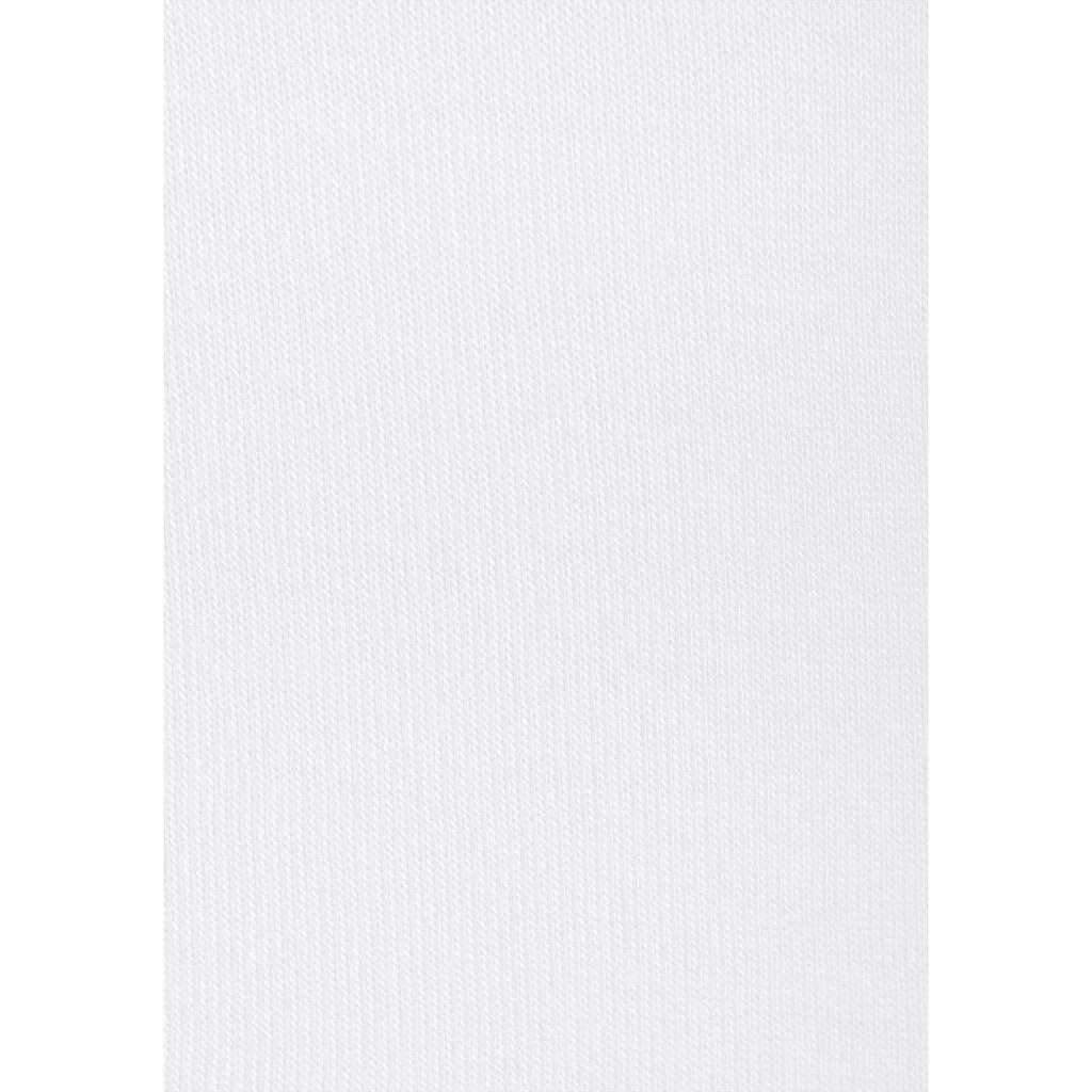 s.Oliver Kurzarmshirt, mit gedruckter Bordüre