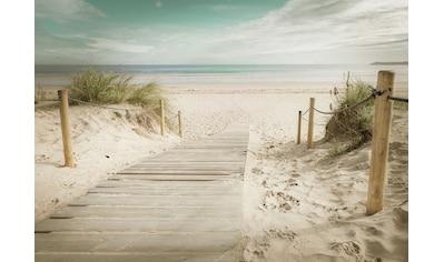 CONSALNET Fototapete »Strand«, Vlies, in verschiedenen Größen kaufen