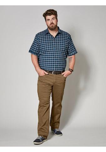 Men Plus by Happy Size Spezialschnitt Seersuckerhemd kaufen