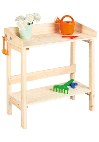 PINOLINO Pflanztisch »Käthe«, BxTxH: 60x31x63 cm, für Kinder kaufen