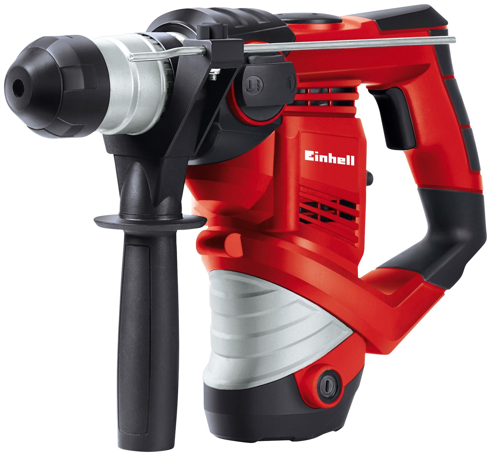 Einhell Bohrhammer TH-RH 900/1 rot Bohrhämmer Werkzeug Maschinen