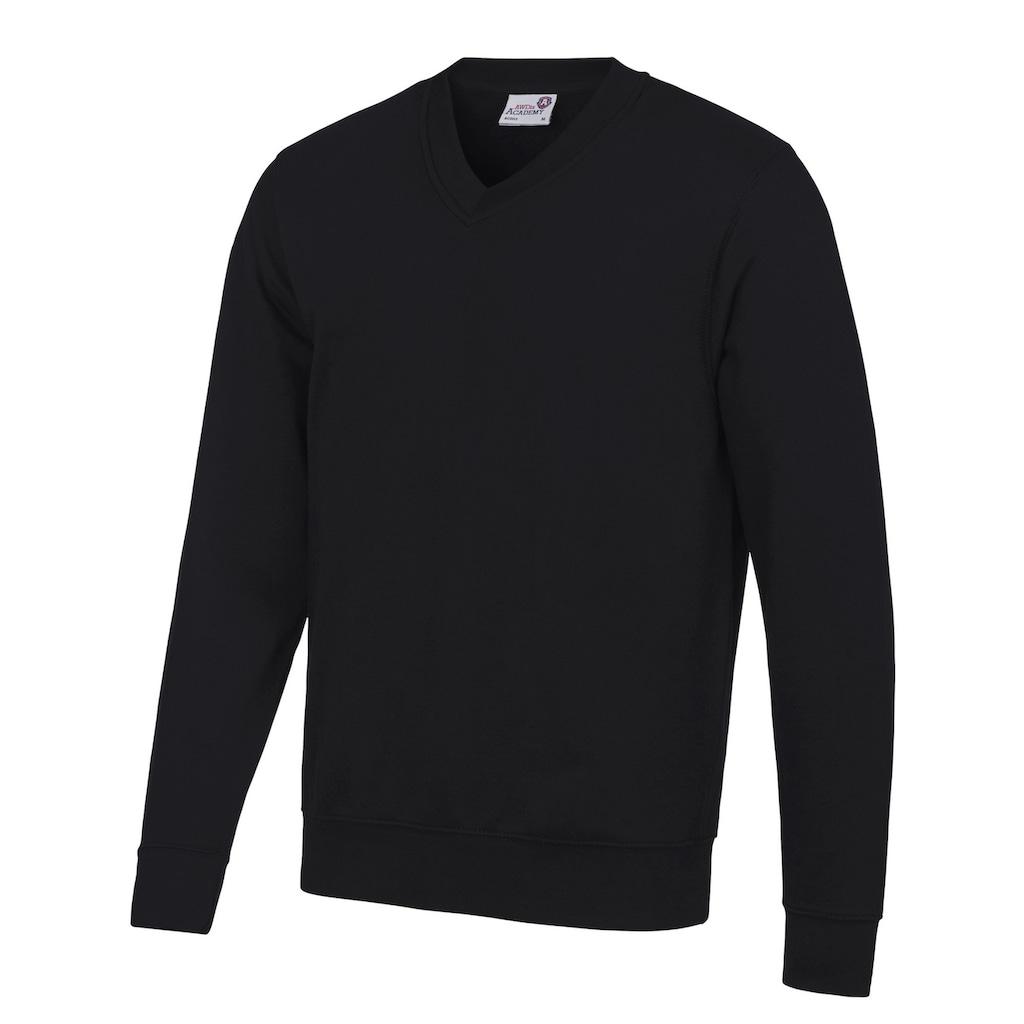 AWDIS V-Ausschnitt-Pullover »Academy Herren Sweatshirt, V-Ausschnitt«