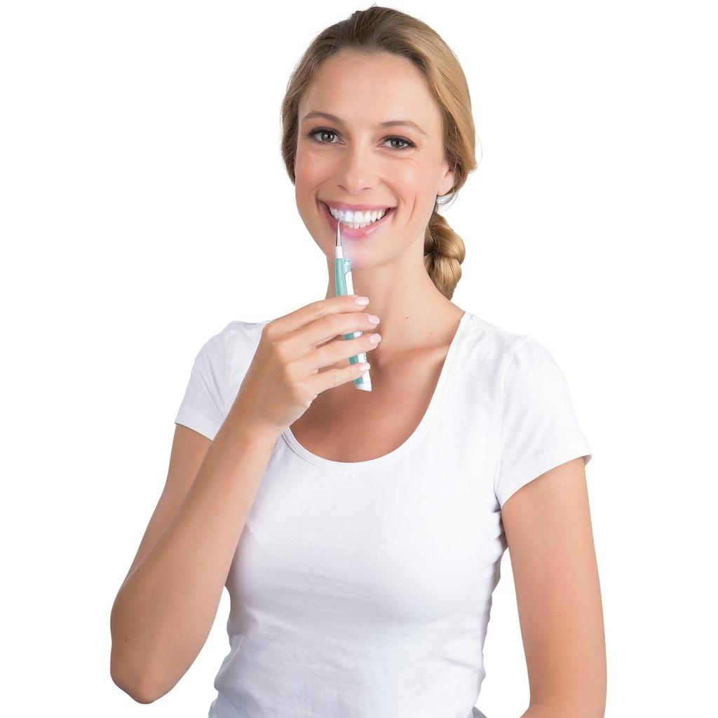 VITALmaxx Schall-Zahnreinigungsgerät »Zahnreiniger 9104«, 2 St. Aufsteckbürsten