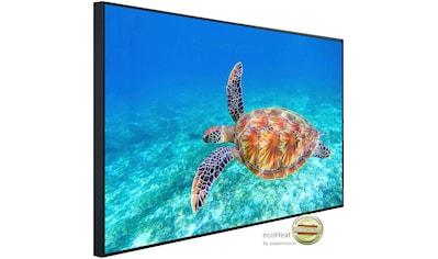 Papermoon Infrarotheizung »Große grüne Meeresschildkröte«, sehr angenehme Strahlungswärme kaufen