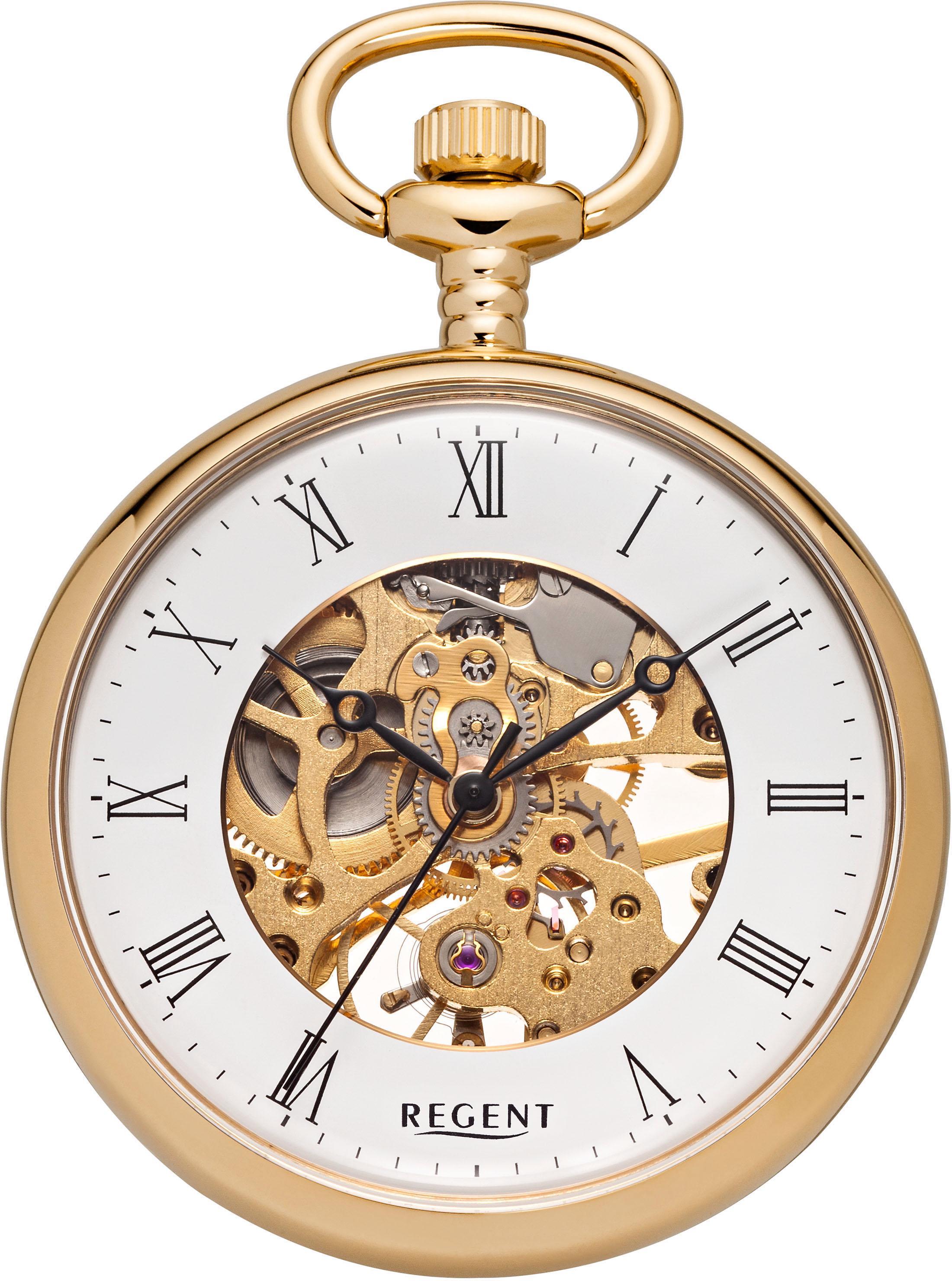 Regent Taschenuhr P30 (Set 2 tlg) | Uhren > Taschenuhren | Goldfarben | Regent