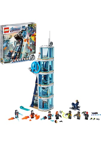 LEGO® Konstruktionsspielsteine »Avengers – Kräftemessen am Turm (76166), LEGO® Marvel Avengers Movie 4«, (685 St.), Made in Europe kaufen