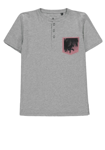 Marc O'Polo Junior Henleyshirt kurzärmlig kaufen