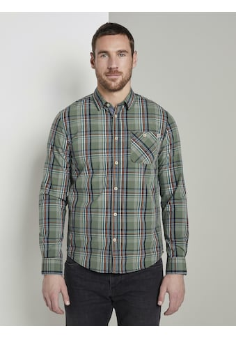 TOM TAILOR Karohemd »Kariertes Hemd« kaufen