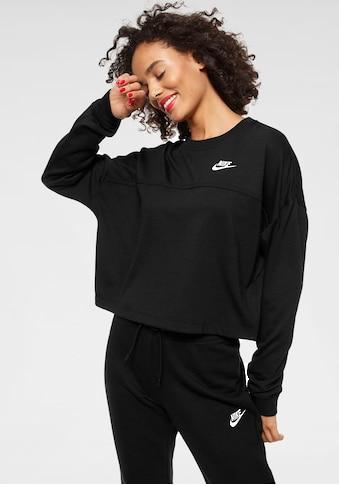Nike Sportswear Sweatshirt »W NSW CREW JERSEY« kaufen