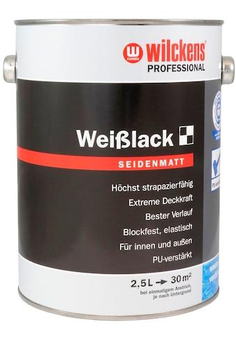 Wilckens Farben Weißlack »Professional seidenmatt«, wasserverdünnbar kaufen