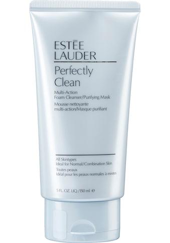 ESTÉE LAUDER Gesichts-Reinigungsschaum »Perfectly Clean Multi-Action«, und Maske kaufen