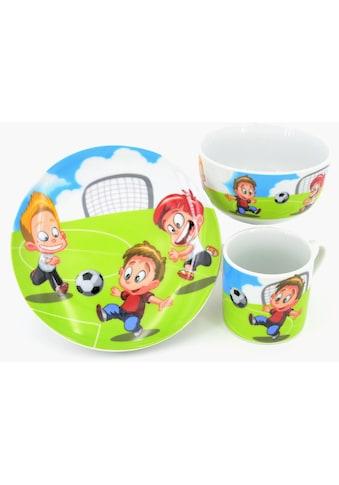 Retsch Arzberg Kindergeschirr-Set »Fußball«, (Set, 3 tlg.) kaufen