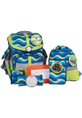 SCHOOL - MOOD® Schulranzen »Timeless Air, Malte« (Set, 7 tlg.) kaufen