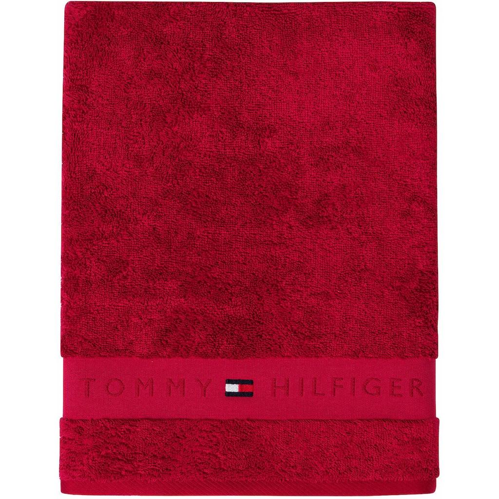 Tommy Hilfiger Handtücher »Frottee Uni«, (2 St.), in vielen Farben erhältlich