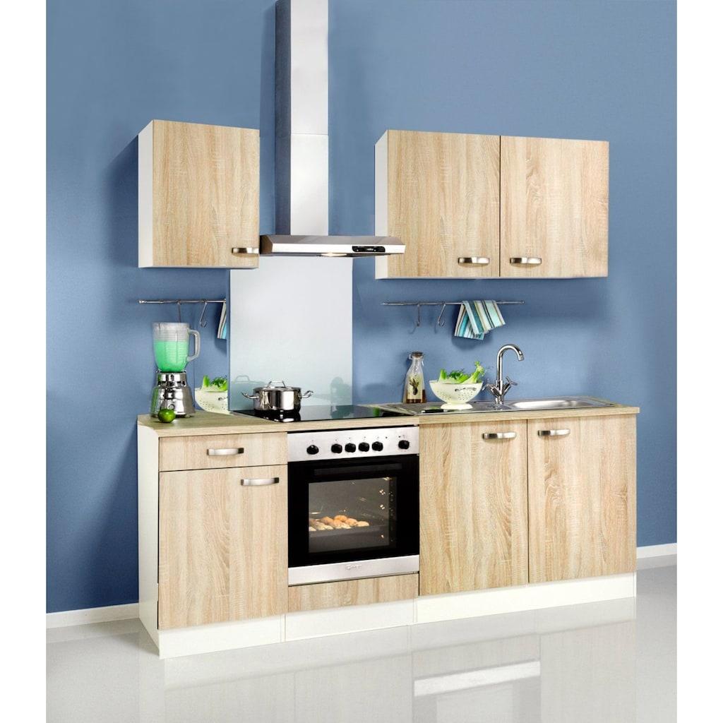 OPTIFIT Küchenzeile »Padua«, ohne E-Geräte, Breite 210 cm