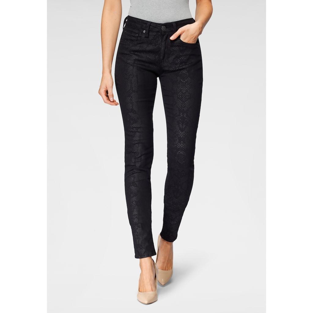 Herrlicher Slim-fit-Jeans »SUPER G SNAKE«, im dezentem Animal-Print