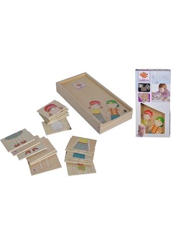 Eichhorn Puzzle »Körperpuzzle mit Holzbox«, (19 tlg.), FSC®-Holz aus gewissenhaft... kaufen