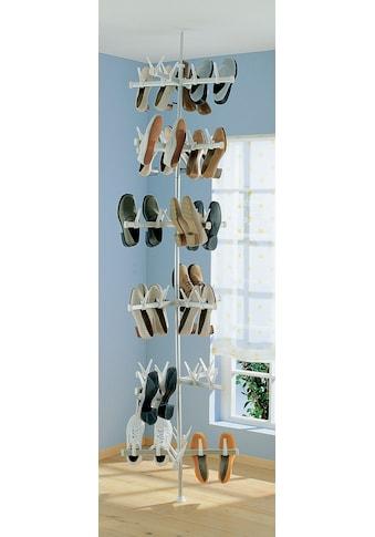 Ruco Schuhregal, Alluminium/Kunststoff, höhenverstellbar, für bis zu 48 Paar Schuhe kaufen
